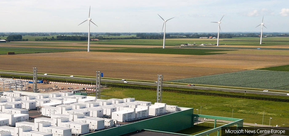 Microsoft signs new wind energy deal for Netherlands data centres