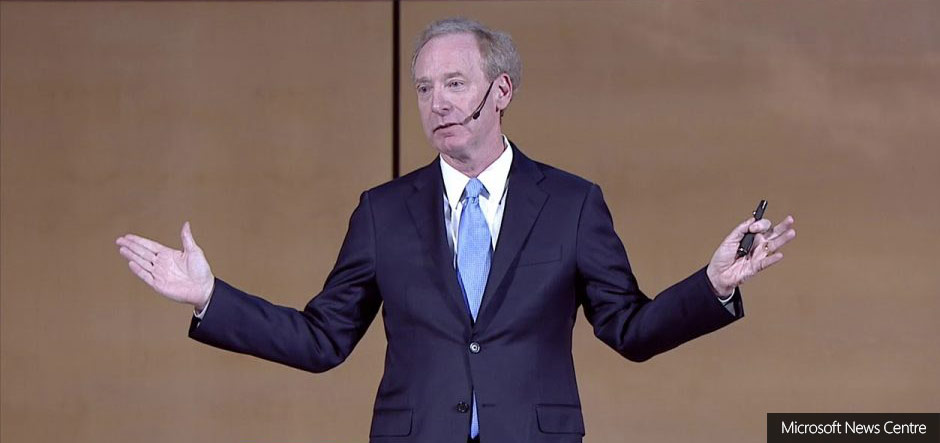 Microsoft's Brad Smith calls for new 'Digital Geneva Convention'