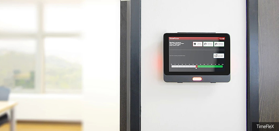 TimeFleX to launch new meeting module and NFC door panels