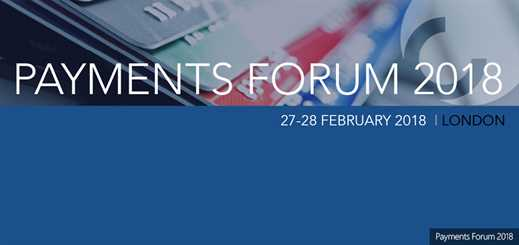 Payments Forum 2018 to focus on trends and technologies