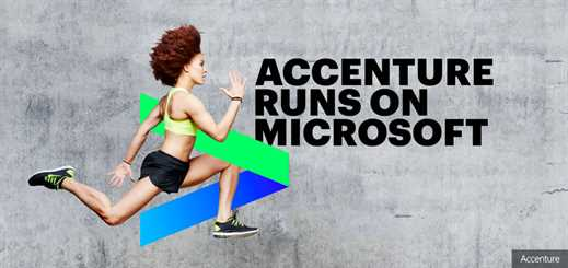 Accenture to complete world's largest deployment of Windows 10 in 2018