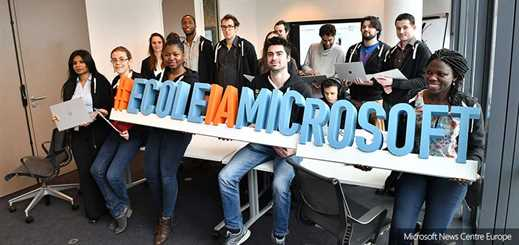 Microsoft France opens new artificial intelligence school