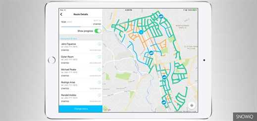 Montgomery County Department of Transportation deploys SNOWiQ app