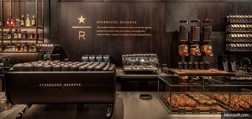 Starbucks partners with Microsoft to deliver a seamless customer experience