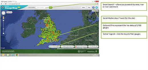 Shoothill launches GaugeMap on Microsoft Azure