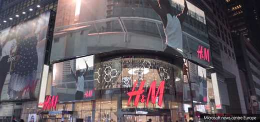 H&M installs Azure-powered 'magic mirror' at flagship store