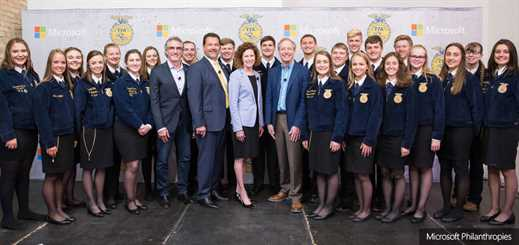 Microsoft and National FFA to help drive innovation in agriculture