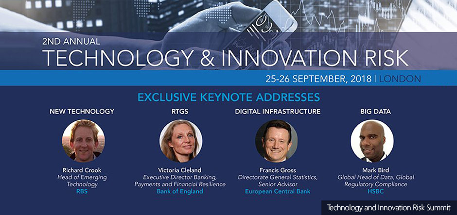 Technology and Innovation Risk Summit: the future of financial services