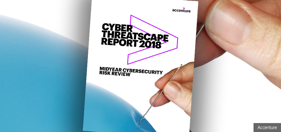 New Accenture report identifies top five global cybersecurity threats
