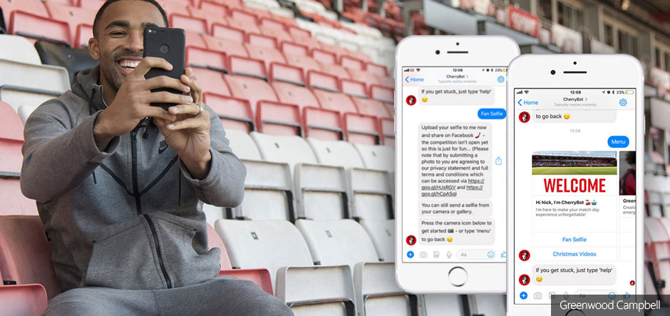 AFC Bournemouth trials chatbot to boost fan engagement