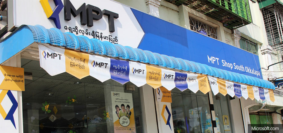 Myanmar Posts and Telecommunications adopts Office 365