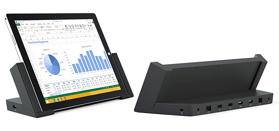 Microsoft's Surface Pro 3 Docking Station now available for preorder