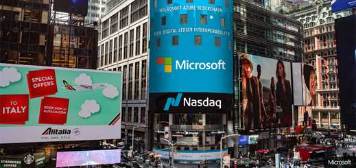 Nasdaq partners with Microsoft to implement blockchain technology