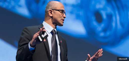 Future Decoded: Satya Nadella outlines need for 'tech intensity'