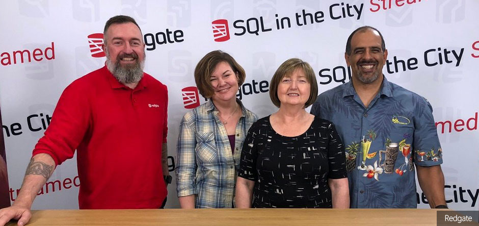 Redgate Software Webinar: SQL in the City Streamed