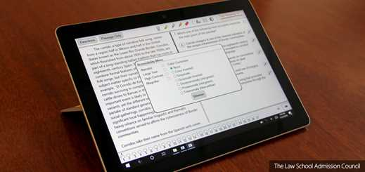 LSAC chooses Microsoft Surface Go to digitise admission tests