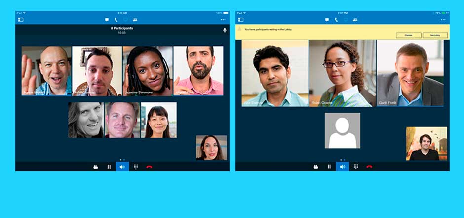 Microsoft updates Lync app for iPhone and iPad, and adds Gallery View functionality