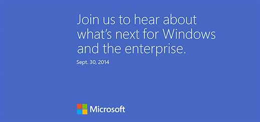 Microsoft to reveal Windows 9 at event later this month?