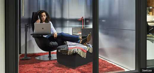 Steelcase chooses Microsoft to help design high-tech offices