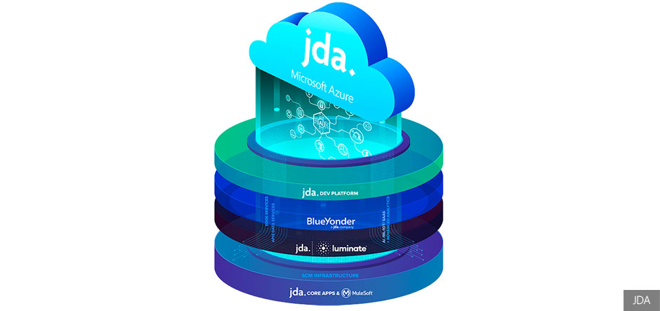 Microsoft Azure to host JDA's supply chain management platform