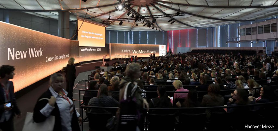 Hannover Messe: Future of Work in Industry Conference and WomenPower