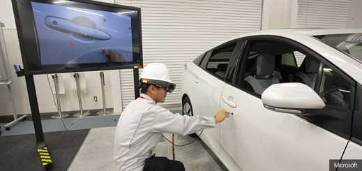 Toyota improves operations with Microsoft HoloLens