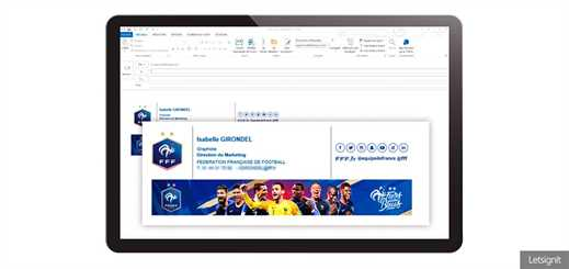 French Football Federation chooses Letsignit to improve brand identity