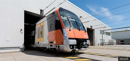 Downer uses Microsoft Azure to improve train safety in Sydney