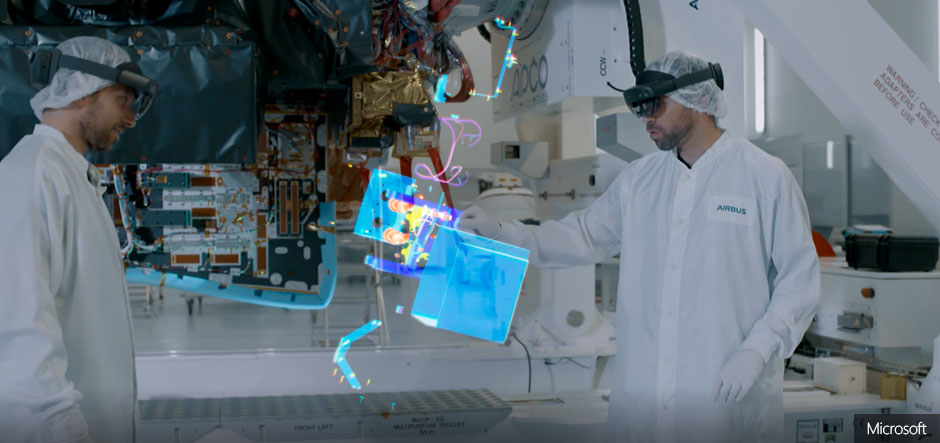 Airbus chooses Microsoft mixed reality technologies