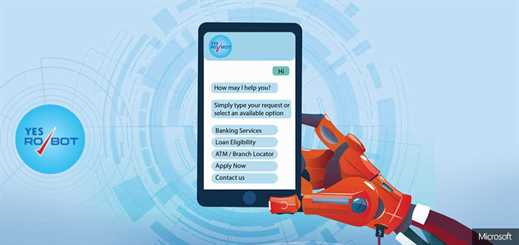 Yes Bank creates 'Yes Robot' using Microsoft Cognitive Services
