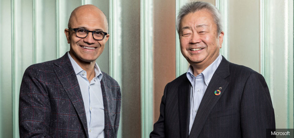 Microsoft and NTT partner to drive digital transformation