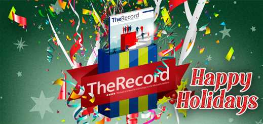 Happy holidays to all readers of The Record!