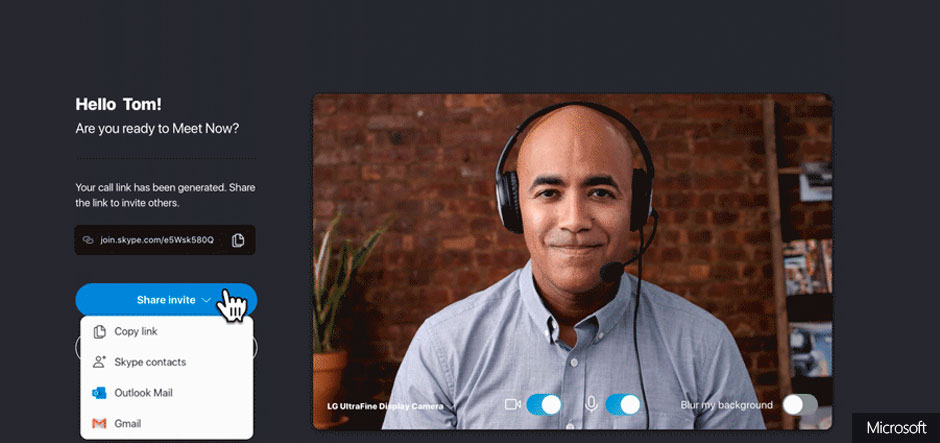 Microsoft rolls out new Meet Now feature in Skype
