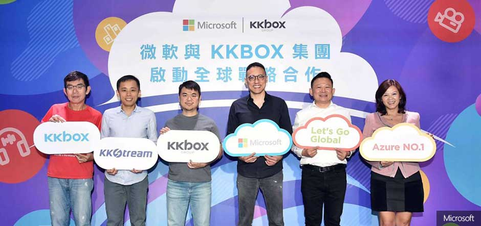 KKBOX chooses Microsoft Azure for streaming services