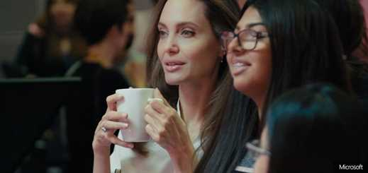 Angelina Jolie and Microsoft create children's news show for BBC World