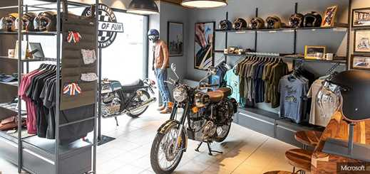 Royal Enfield delivers new customer experiences with Dynamics 365
