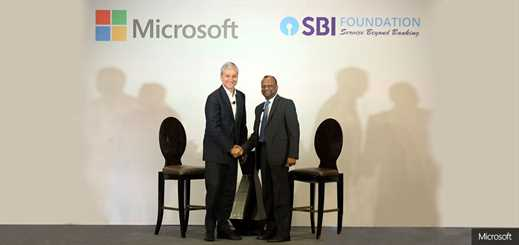 Microsoft and SBI Foundation create Indian accessibility programme