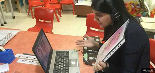 Indian educators use Microsoft Teams to teach remotely