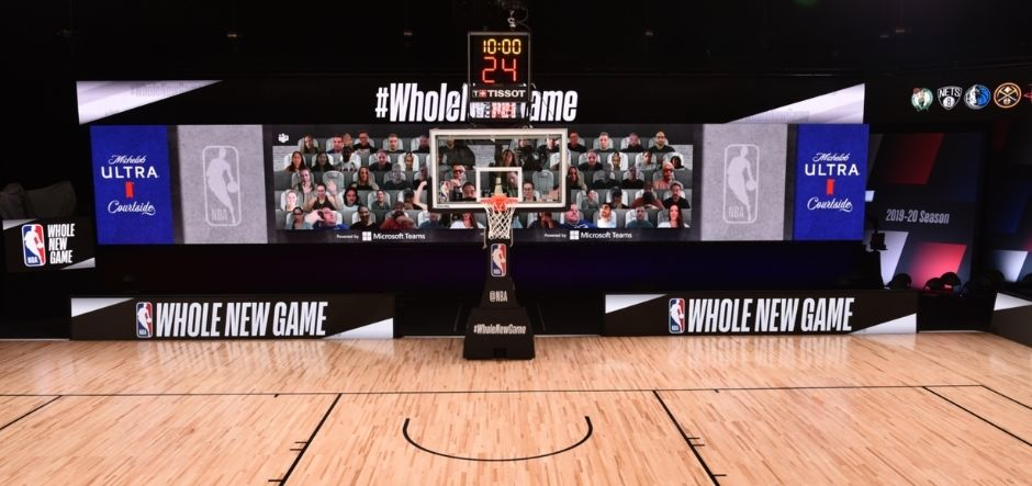 NBA to use Microsoft Teams for new court-side experiences