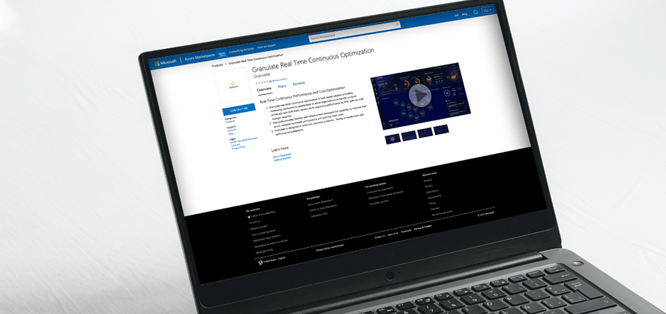 Granulate launches optimisation solution in Azure Marketplace