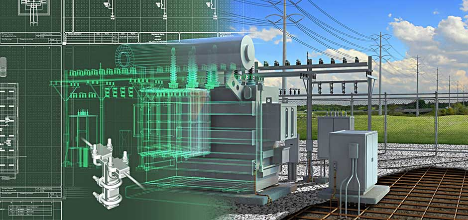 American electric power enhances electric substation for Substation design