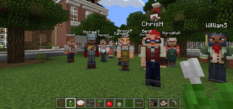 Minecraft Education Edition To Be Released In November - Minecraft hauser app
