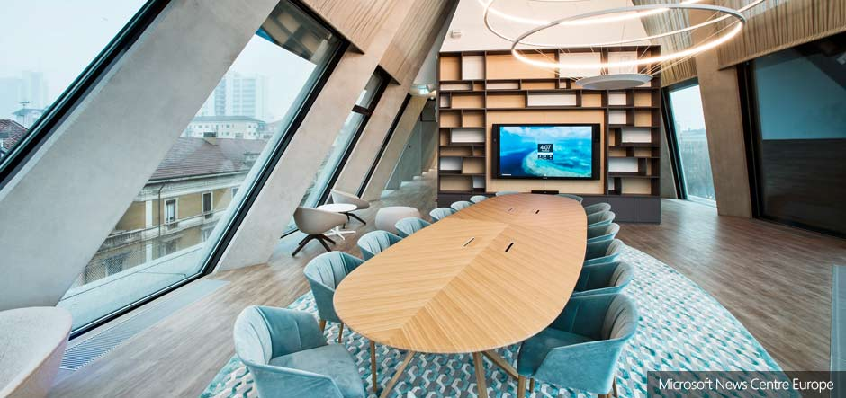 Microsoft House opens its doors in Milan