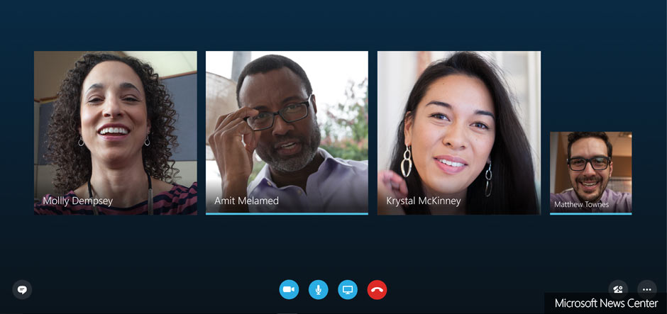 Image result for skype for business video call