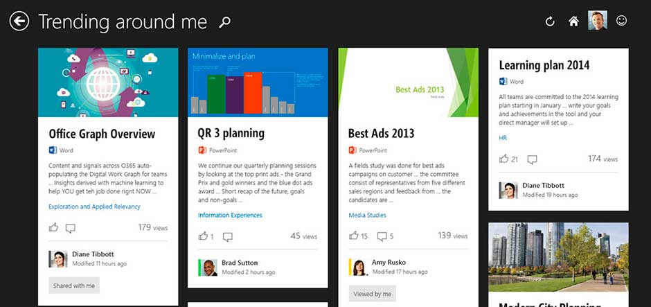 Microsoft Releases Office Delve On Office Graph