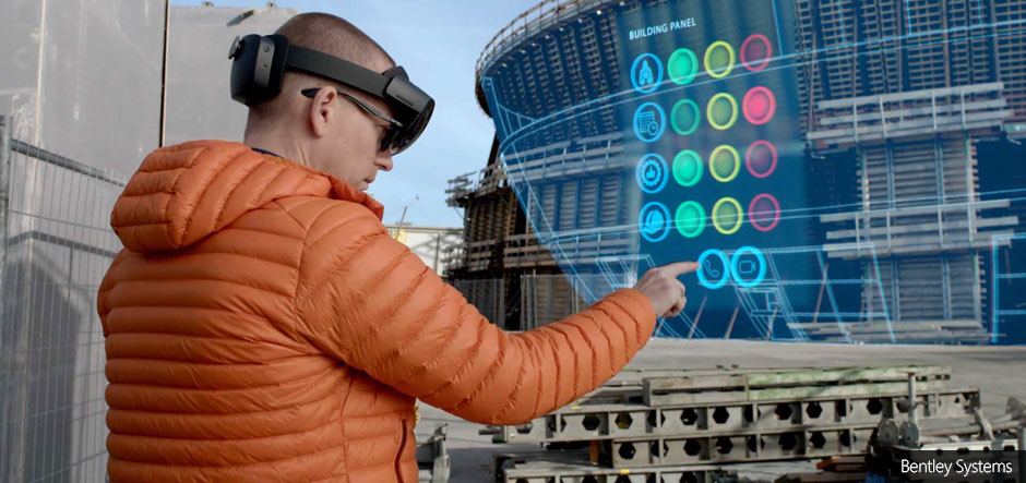 Bentley Systems launches Synchro XR for Microsoft HoloLens 2