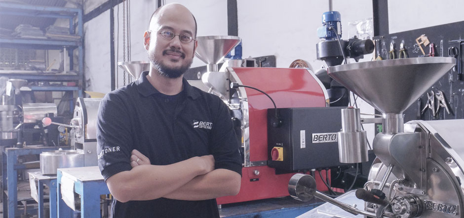 Schneider Electric gives Berto Coffee Roaster a taste of success