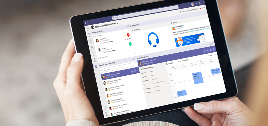 Anywhere365 to launch Attendant Console for Microsoft Teams