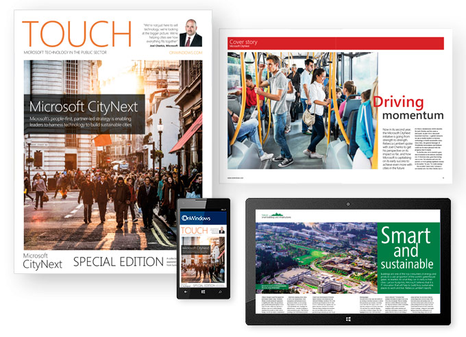 Touch - Special Edition - Microsoft CityNext